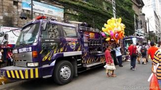 Eng Bee Tin's purple fire truck
