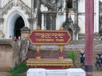 Thatbyinnyu Phaya marker