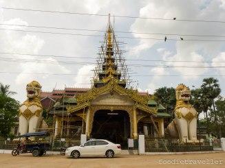 Shwe Tha Lyaung Pagoda entrance
