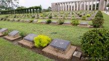 Taukkyan War Cemetery graves