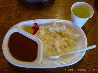 Mt. Fuji Fujinomiya Trail - 9th Station Curry Rice