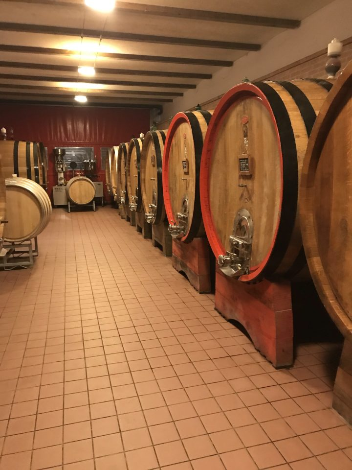 Ca del Baio Barrel Room