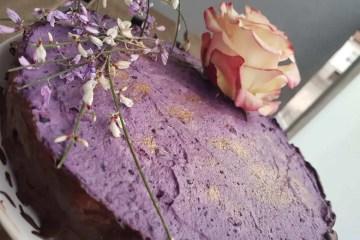 Savršena ljubičasta gluten free torta