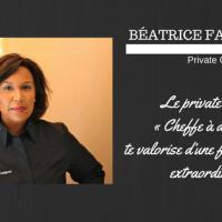 """Béatrice Fabignon : """"cheffe à domicile te valorise d'une façon directe et extraordinaire"""""""