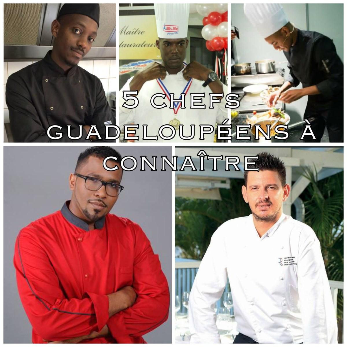 5 jeunes chefs guadeloupéens qui révolutionnent la cuisine en Guadeloupe