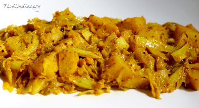 cabbage curry with mustard sauce 11