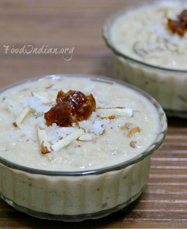 coconut dates kheer 11