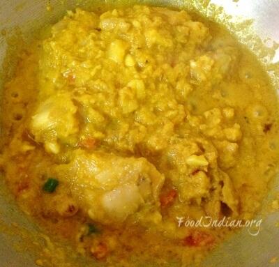 green papaya chicken curry 5