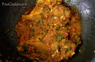 pomfret fish red curry 15