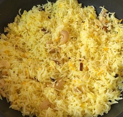 sweet saffron rice 16