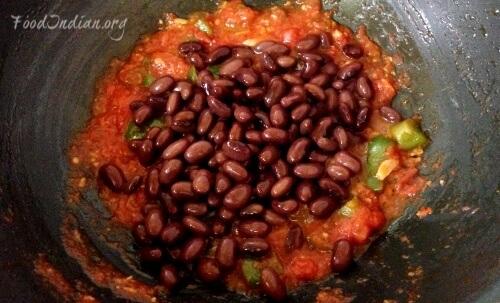 tomato kidney bean curry 7