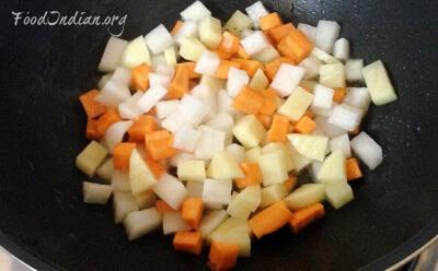 vegetable paneer korma 2