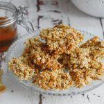 Mehlwurm Honig-Nuss Proteinriegel