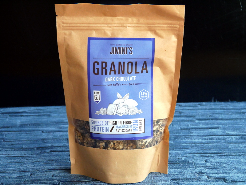 JIMINIS Chocolate Granola - Food Insects