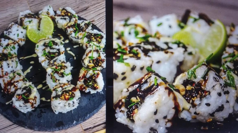 Grillen-Teriyaki Sushi - GROUNDED Insekten kochen
