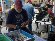 Fresh Oysters - Ferry Building Farmers Market