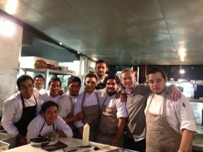 Chefs at Pujol