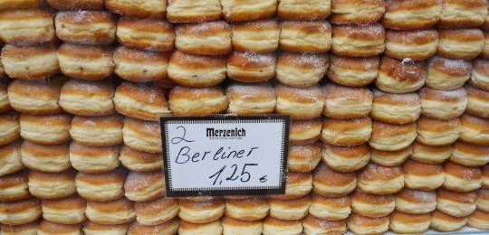 Berliner donuts in Cologne