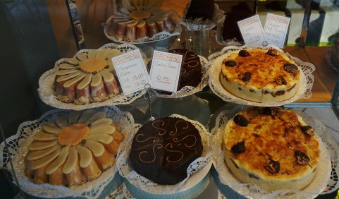 Pastries at Fromme