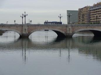 Santa Catalina bridge, with restaurant Ni Neu in background