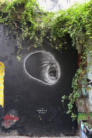 Empty Belly, in Graffiti Alley
