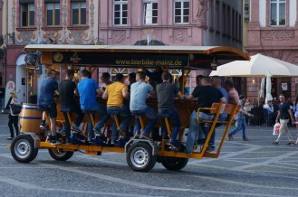 Make way for the beer bike