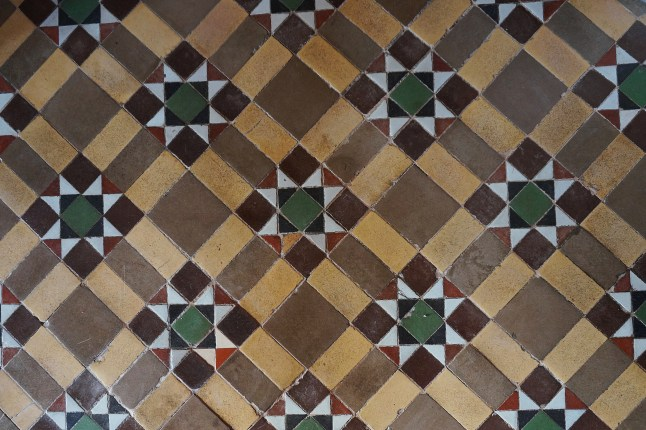 Tilework in Pena Palace