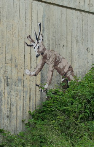 Graffiti near Novillars