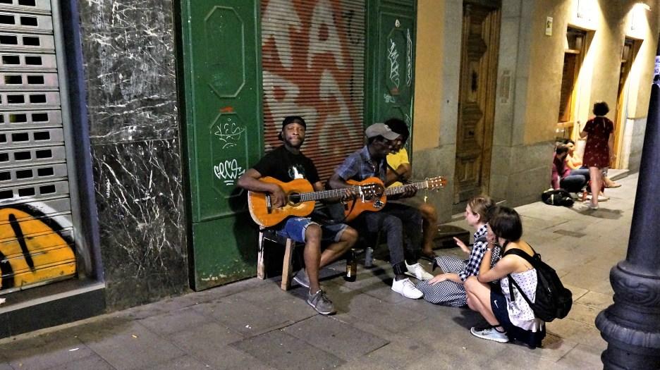 Jammin' in Madrid