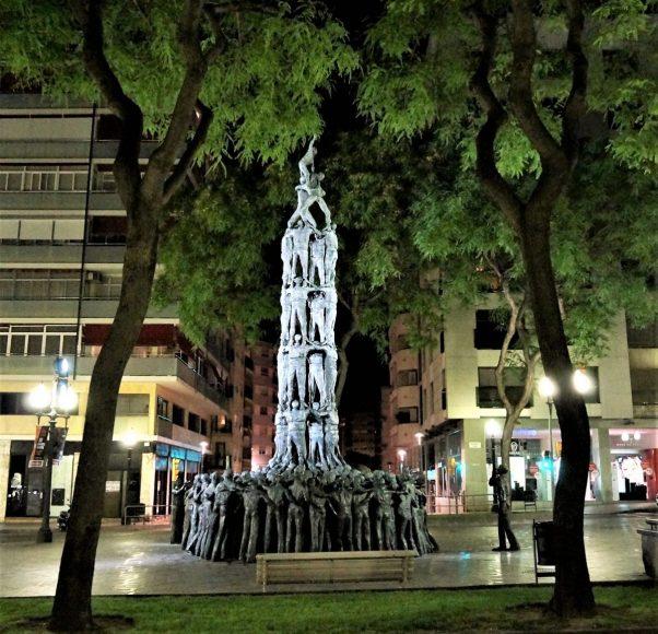 Tarragona, city of human towers