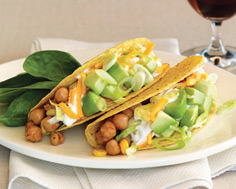 chick pea tacos