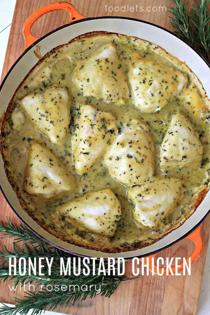 Make Ahead Honey Mustard Chicken Foodlets