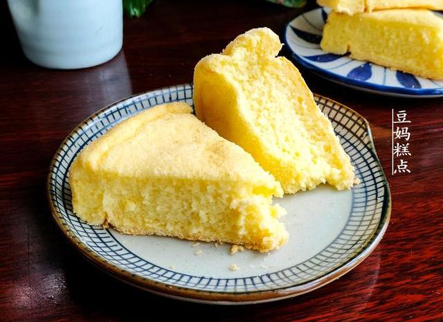 糯米泡一夜,做成蛋糕方法简单口感软糯