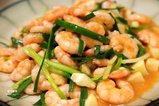 虾仁最经典的吃法,做法简单鲜甜又脆口