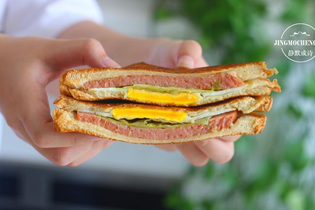 认真吃早餐,就从最简单的三明治开始