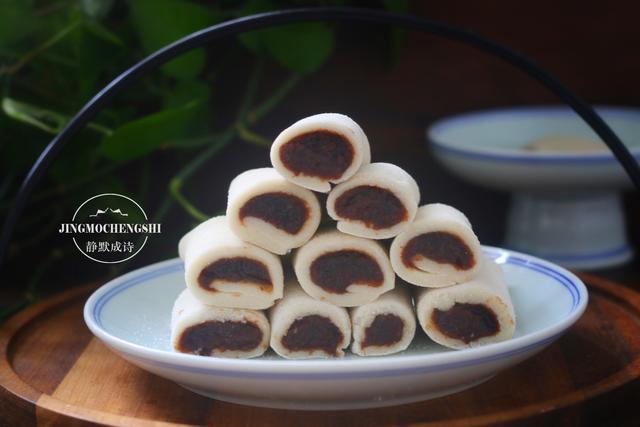用糯米粉做道清凉小甜品,又糯又甜