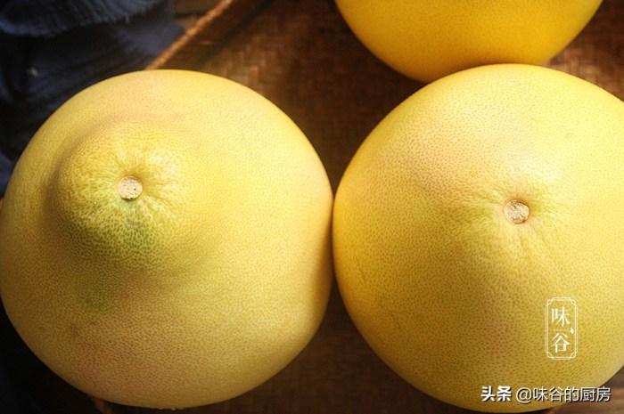 买柚子记住这4点,买再多都不会挑错柚子香甜汁水多