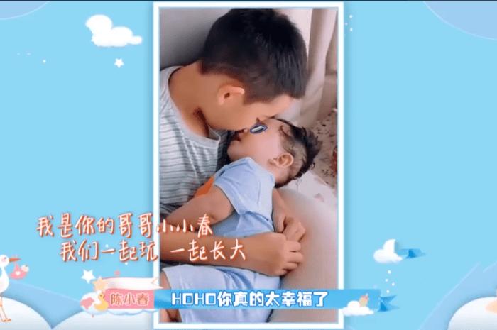 HOHO來啦,陳小春希望兩兄弟齊心協力保護媽媽應采兒