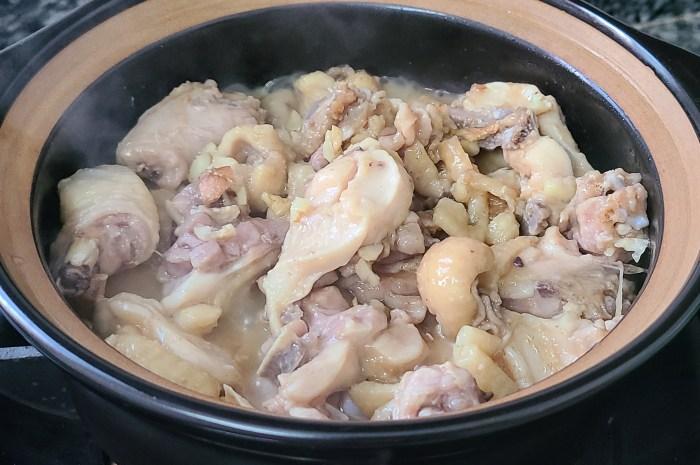 沙薑焗雞煲,吃過它的人都說香
