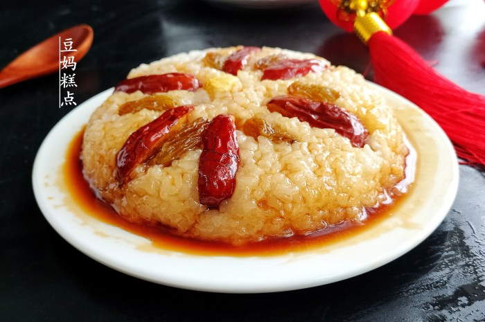 年夜飯必備的八寶糯米飯,軟糯香甜越蒸越好吃