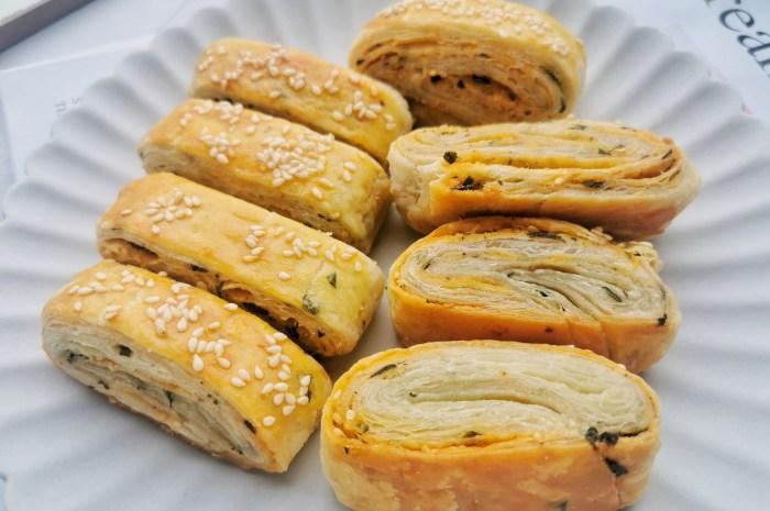 千層酥餅的簡單做法,層層酥脆迷上這早餐了