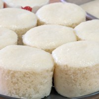 自製米發糕最簡單的做法,色白Q彈