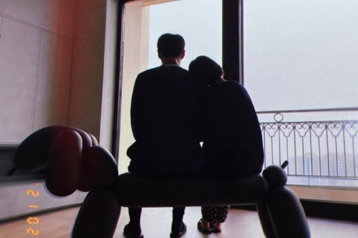 楊丞琳曬與李榮浩背影照,依偎老公肩膀超甜蜜
