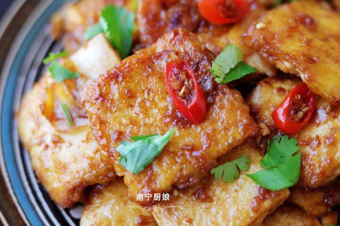 煎豆腐時多做1步驟,豆腐完整不碎還更入味