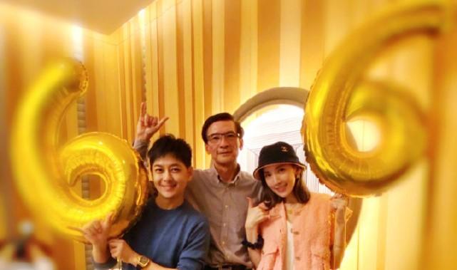 林志穎為岳父慶生,與女兒女婿同框氣場不輸