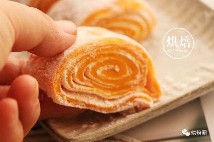 紅薯卷新做法香甜軟糯,吃起來全是紅薯的味道