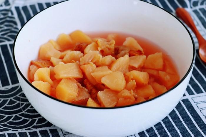 苹果和它是绝配,切块放锅里一煮喝出水润白皙