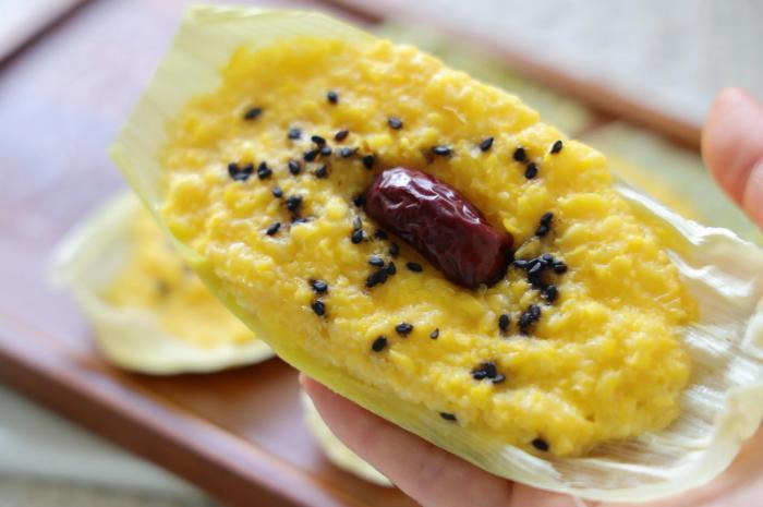一定要试试玉米这个吃法,香甜软糯,当早餐又当零食