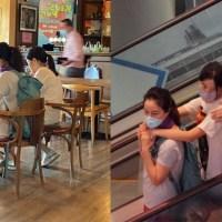 张家辉携妻女外出享家庭乐,15岁女儿身高瞩目,亭亭玉立像关咏荷