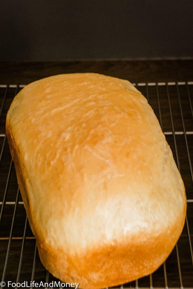 Homemade machine bread recipe